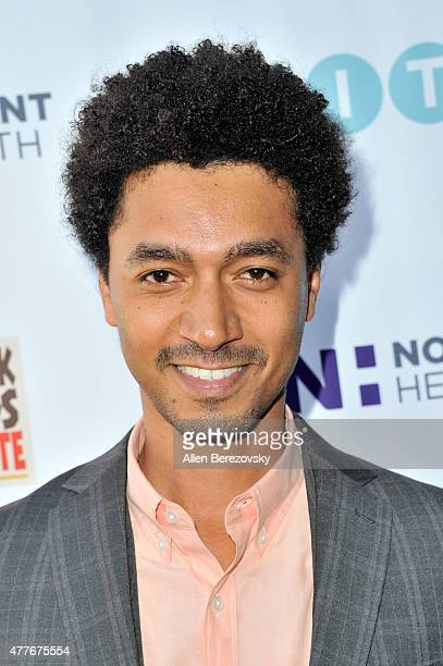Actor Shawn Carter Peterson attends the Black AIDS Institute 2015 Heroes in the Struggle Reception Gala and Awards Ceremony at Directors Guild Of...