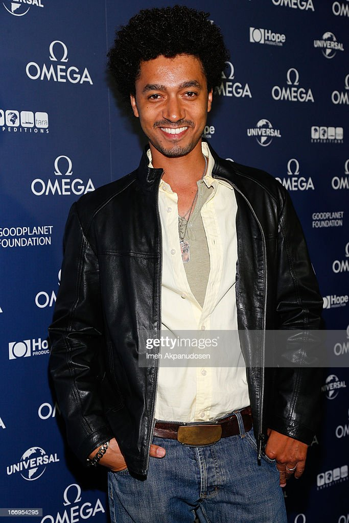 Actor Shawn Carter Peterson attends the premiere of 'Planet Ocean' at Pacific Design Center on April 18, 2013 in West Hollywood, California.