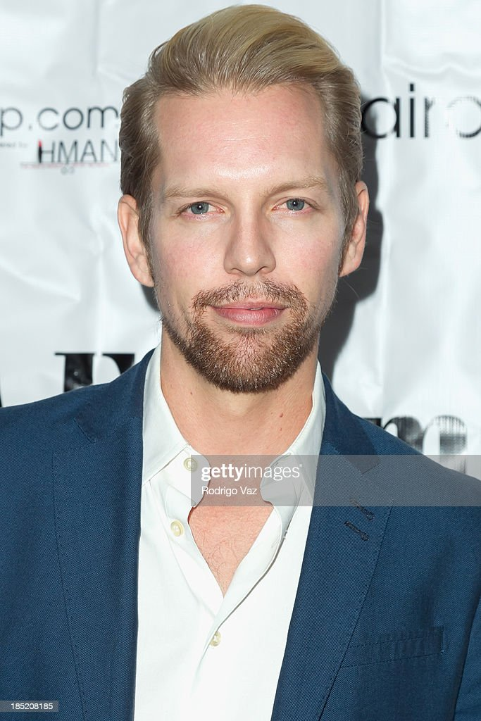 Actor Shawn-Caulin Young attends the 9th Annual La Femme International Film Festival opening night gala premiere 'Psycho Circus' at The Renberg Theatre on October 17, 2013 in Los Angeles, California.