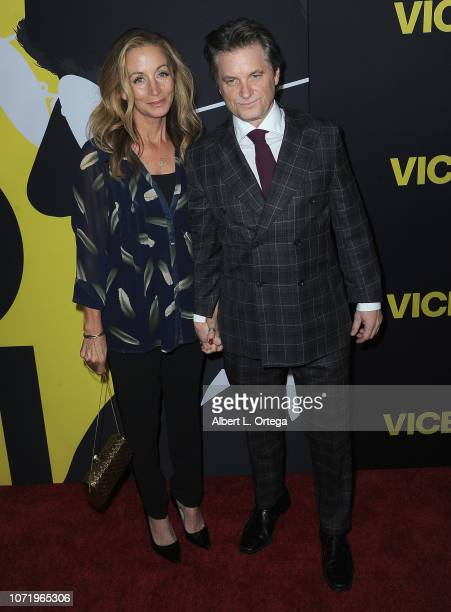 Actor Shea Whigham and Christine Whigham arrive for Annapurna Pictures Gary Sanchez Productions And Plan B Entertainment's World Premiere Of Vice...
