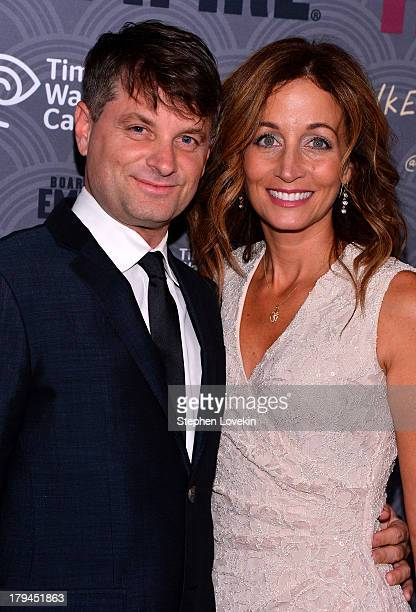 Actor Shea Whigham and Christine Whigham attend the Boardwalk Empire season four New York premiere at Ziegfeld Theater on September 3 2013 in New...