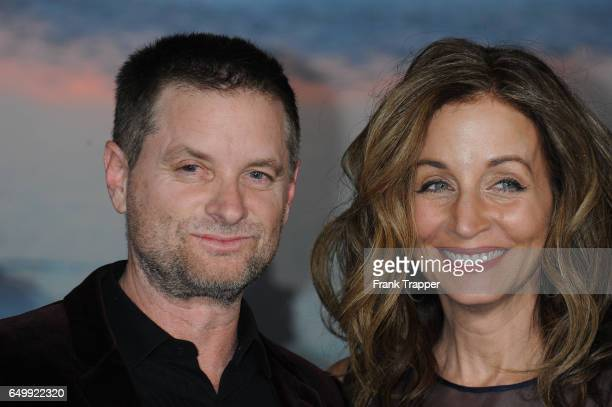 Actor Shea Whigham andChristine Whigham attend the premiere of Warner Bros Pictures' Kong Skull Island at Dolby Theatre on March 8 2017 in Hollywood...