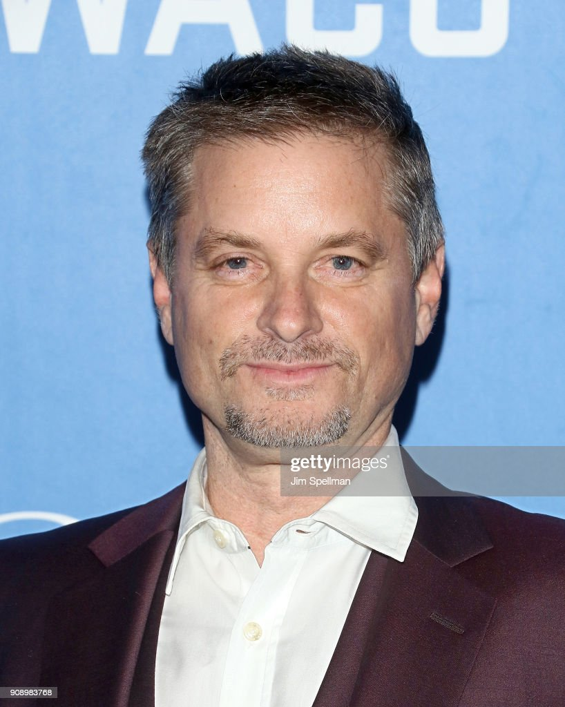 Actor Shea Whigham attends the 'Waco' world premiere at Jazz at Lincoln Center on January 22, 2018 in New York City.