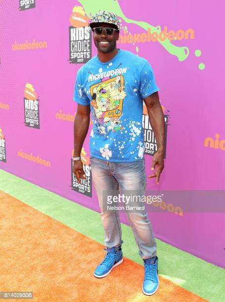 Actor Sheldon Bailey attends Nickelodeon Kids' Choice Sports Awards 2017 at Pauley Pavilion on July 13 2017 in Los Angeles California
