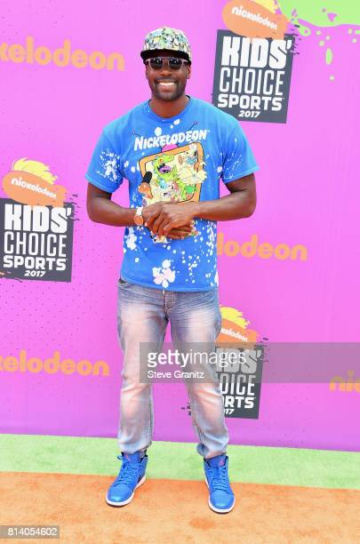 Actor Sheldon Bailey attends the Nickelodeon Kids' Choice Sports Awards 2017 at Pauley Pavilion on July 13 2017 in Los Angeles California