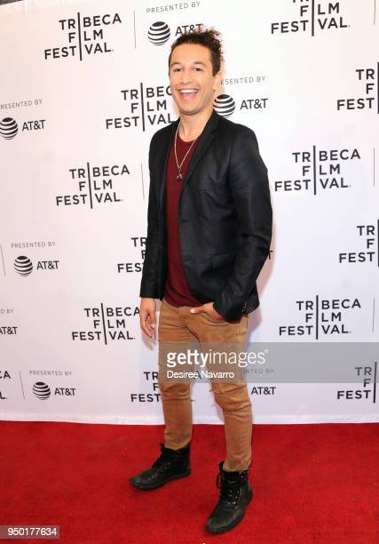 Actor Sheldon White attends 2018 Tribeca Film Festival 'All About Nina' at SVA Theater on April 22 2018 in New York City