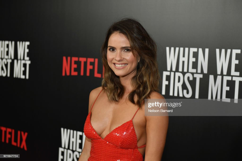 Special Screening Of Netflix Original Film' 'When We First Met' At ArcLight Theaters : News Photo
