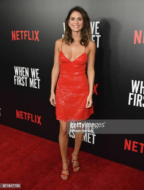 Actor Shelley Hennig attends Special Screening Of Netflix Original Film' 'When We First Met' at ArcLight Theaters at ArcLight Hollywood on February...