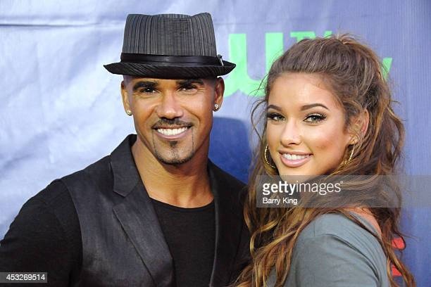 Actor Shemar Moore and Lauren Wood arrive at the CBS The CW Showtime CBS Television Distribution 2014 Television Critics Association Summer Press...