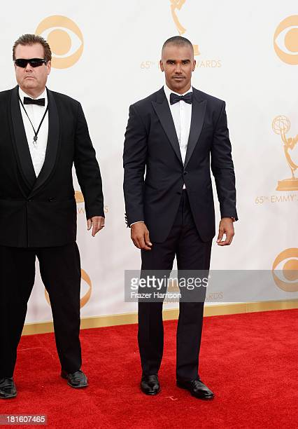 Actor Shemar Moore arrives at the 65th Annual Primetime Emmy Awards held at Nokia Theatre LA Live on September 22 2013 in Los Angeles California