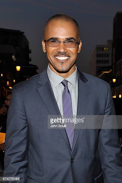 Actor Shemar Moore attends the 45th NAACP Image Awards presented by TV One at Pasadena Civic Auditorium on February 22 2014 in Pasadena California