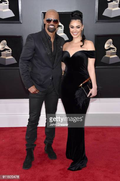 Actor Shemar Moore attends the 60th Annual GRAMMY Awards at Madison Square Garden on January 28 2018 in New York City