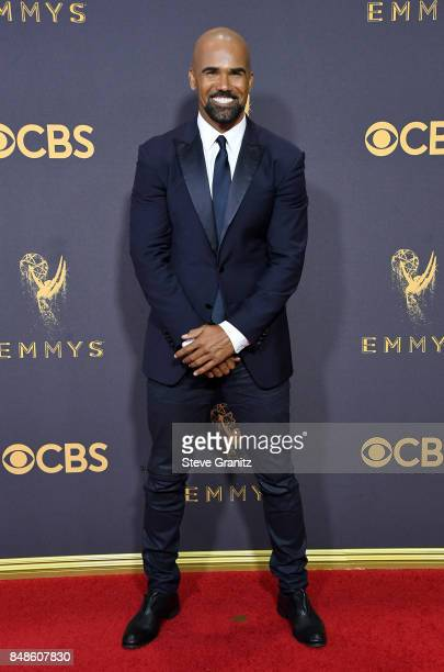 Actor Shemar Moore attends the 69th Annual Primetime Emmy Awards at Microsoft Theater on September 17 2017 in Los Angeles California