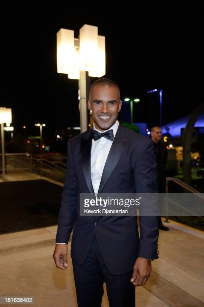 Actor Shemar Moore attends the Governors Ball during the 65th Annual Primetime Emmy Awards at Nokia Theatre LA Live on September 22 2013 in Los...