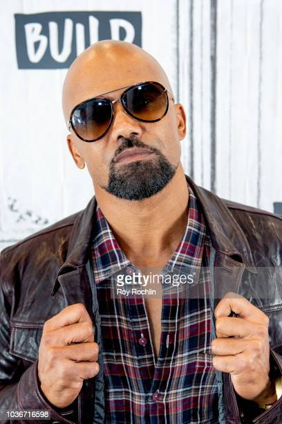 Actor Shemar Moore discusses SWAT with the Build Series at Build Studio on September 20 2018 in New York City