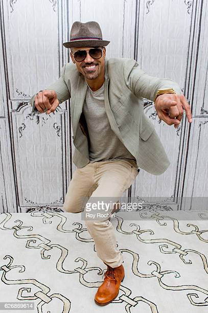 Actor Shemar Moore discusses 'The Bounce Back' during the Build Series at AOL HQ on November 30 2016 in New York City