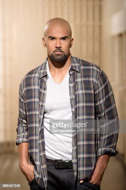 Actor Shemar Moore is photographed for USA Today on November 7 2017 in Monterey Park California