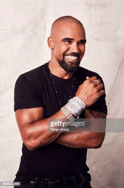 Actor Shemar Moore of CBS's 'SWAT' poses for a portrait during the 2017 Summer Television Critics Association Press Tour at The Beverly Hilton Hotel...