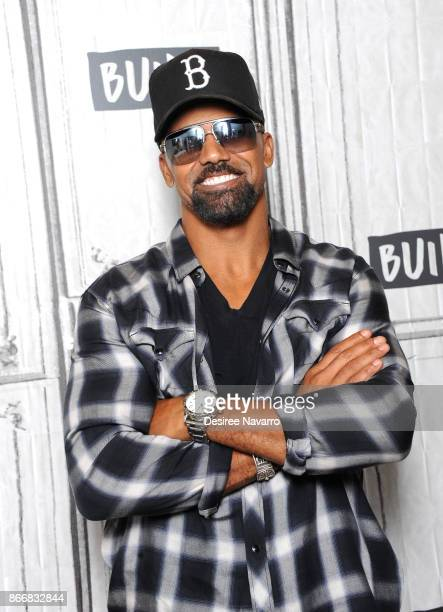 Actor Shemar Moore visits Build to discuss 'SWAT' at Build Studio on October 26 2017 in New York City