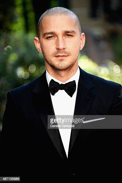 Actor Shia LaBeouf attends a premiere for 'Man Down' during the 72nd Venice Film Festival at on September 6 2015 in Venice Italy