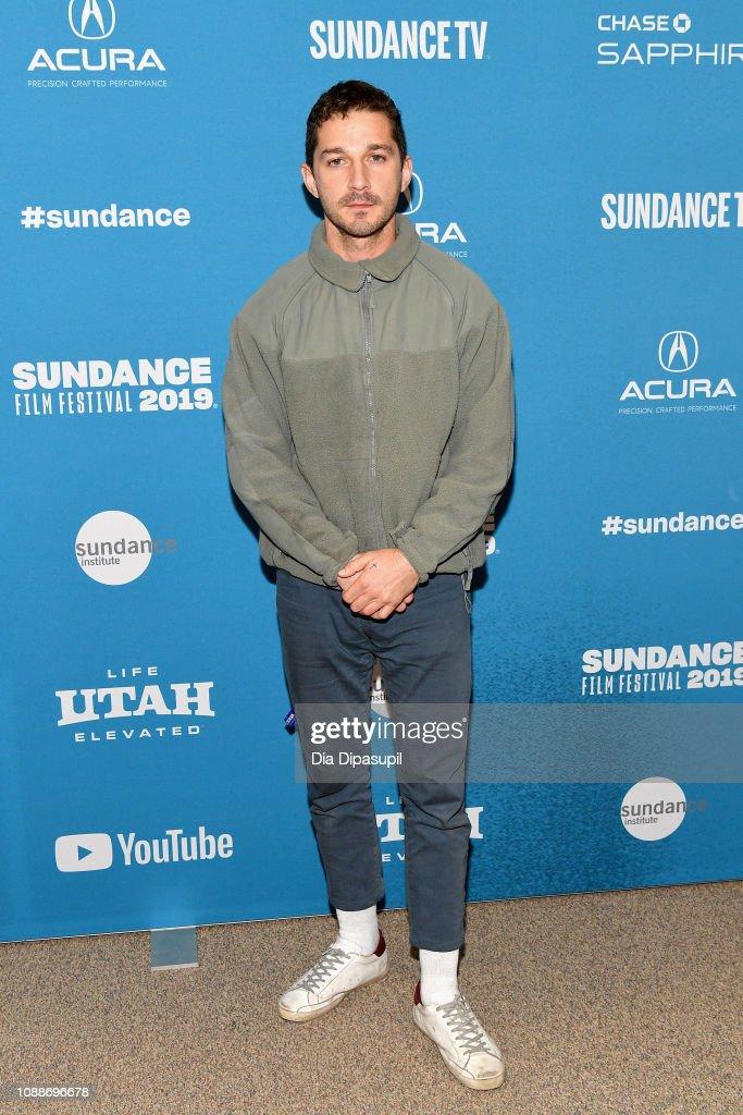 "2019 Sundance Film Festival - ""Honey Boy"" Premiere : News Photo"