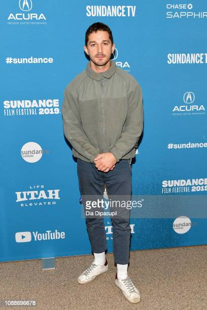 Actor Shia LaBeouf attends the Honey Boy Premiere during the 2019 Sundance Film Festival at Eccles Center Theatre on January 25 2019 in Park City Utah