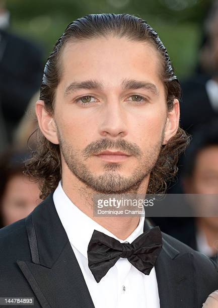 """Actor Shia LaBeouf attends the """"Lawless"""" Premiere during the 65th Annual Cannes Film Festival at Palais des Festivals on May 19, 2012 in Cannes,..."""