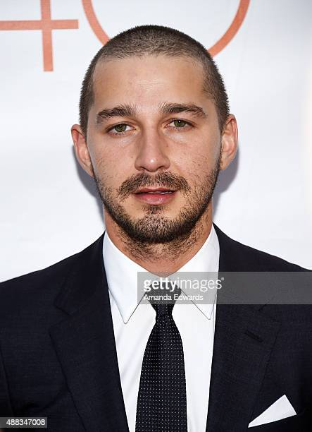 Actor Shia LaBeouf attends the 'Man Down' premiere during the 2015 Toronto International Film Festival at the Roy Thomson Hall on September 15 2015...