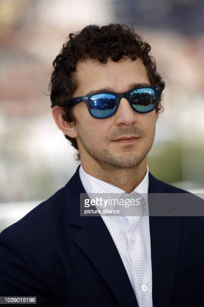 Actor Shia LaBeouf attends the photocall of 'American Honey' during the 69th Annual Cannes Film Festival at Palais des Festivals in Cannes France on...