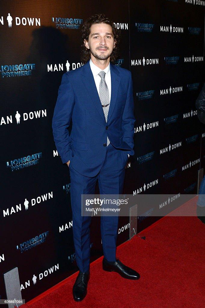 """Premiere Of Lionsgate Premiere's """"Man Down"""" - Arrivals : News Photo"""