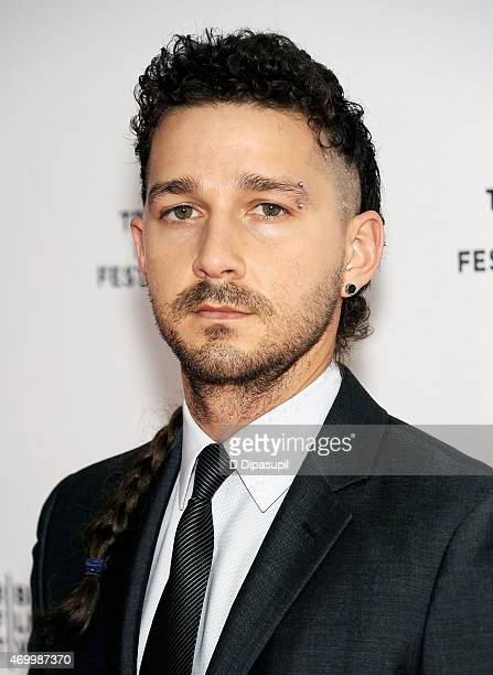 Actor Shia LaBeouf attends the premiere of 'Love True' during the 2015 Tribeca Film Festival at the SVA Theater on April 16 2015 in New York City