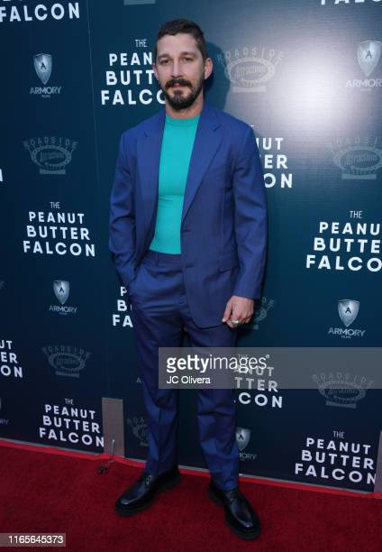 Actor Shia LaBeouf attends the LA Special Screening of Roadside Attractions' 'The Peanut Butter Falcon' at ArcLight Hollywood on August 01 2019 in...