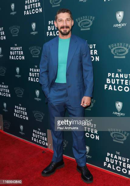 Actor Shia LaBeouf attends the special screening of The Peanut Butter Falcon at the ArcLight Hollywood on August 01 2019 in Hollywood California