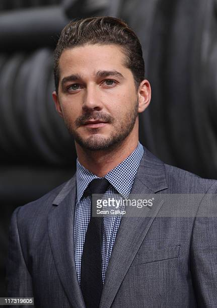 Actor Shia LaBeouf attends the Transformers 3 European premiere on June 25 2011 in Berlin Germany