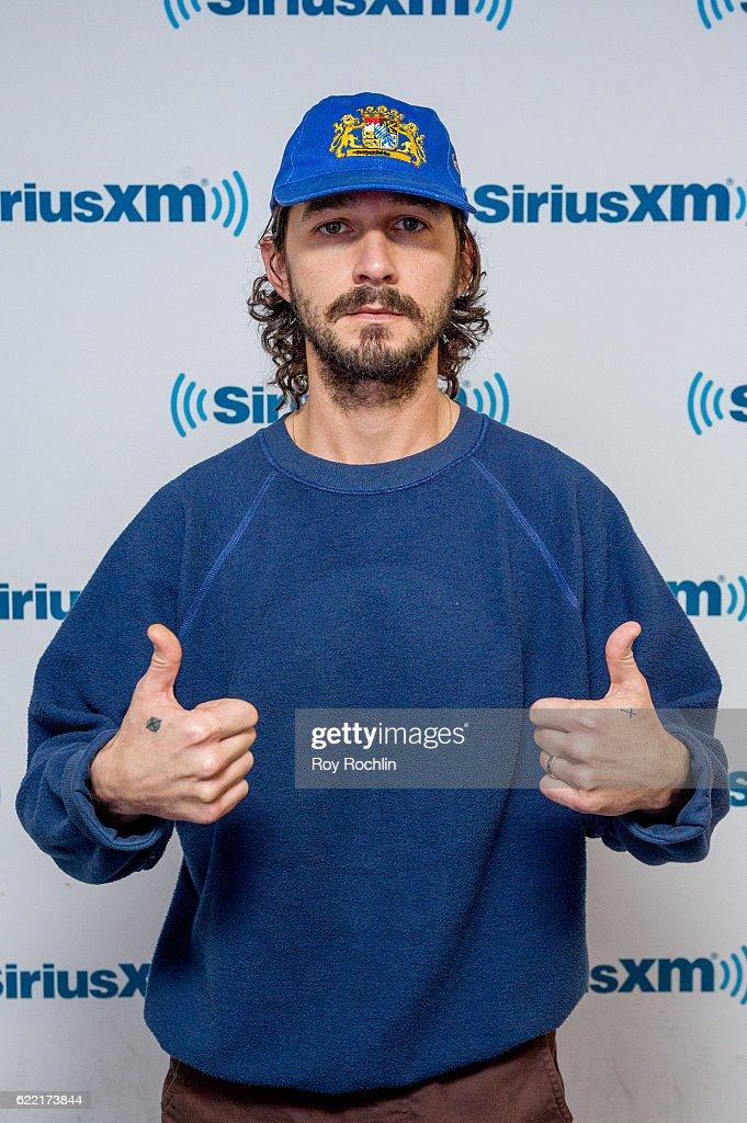 Celebrities Visit SiriusXM - November 10, 2016