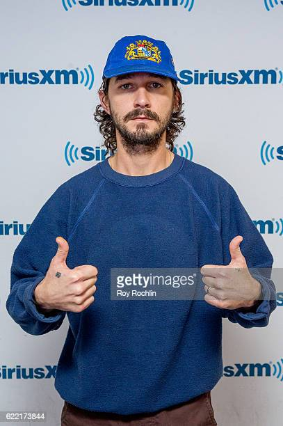 Actor Shia LaBeouf visits Sway in the Morning' on Eminem's Shade 45 at SiriusXM Studio on November 10 2016 in New York City