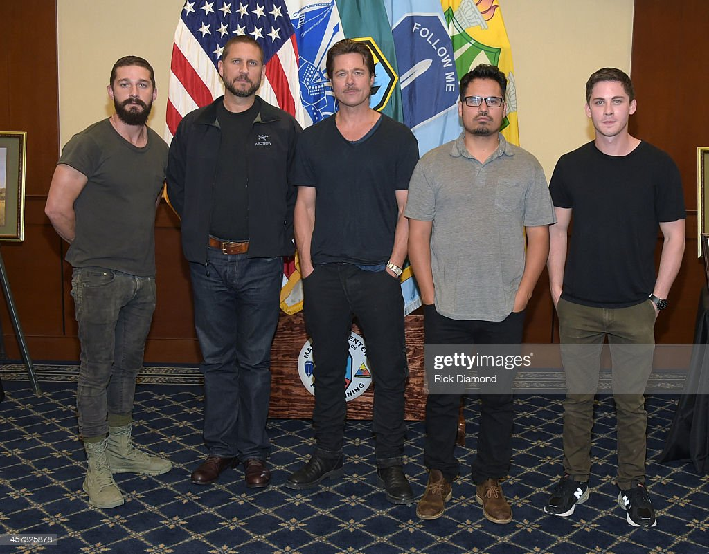 """Fury"" - Fort Benning Georgia Special Screening : News Photo"