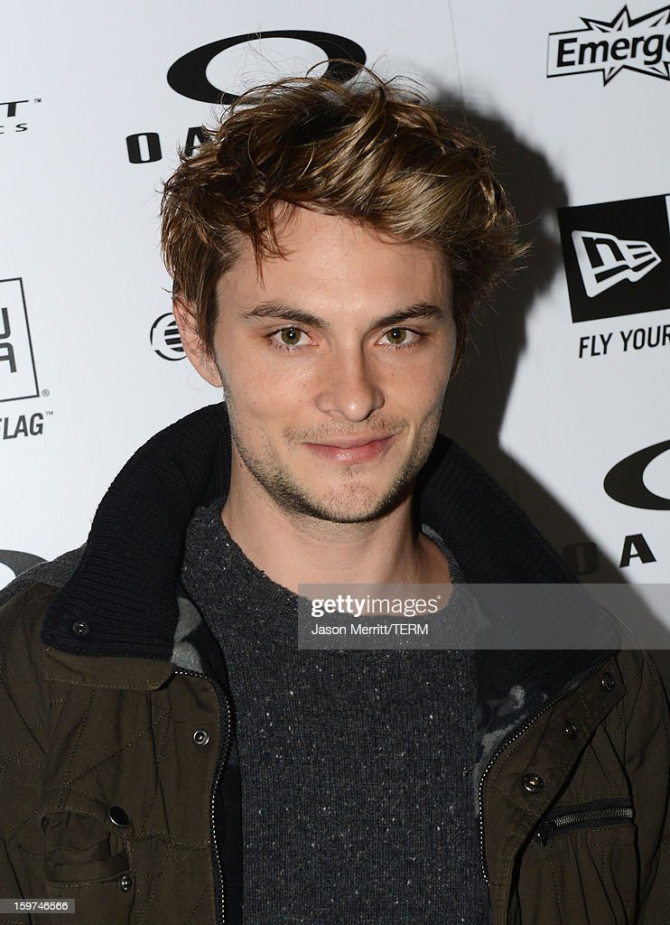 Actor Shiloh Fernandez attends the Oakley Learn To Ride In Collaboration With New Era on January 19, 2013 in Park City, Utah.