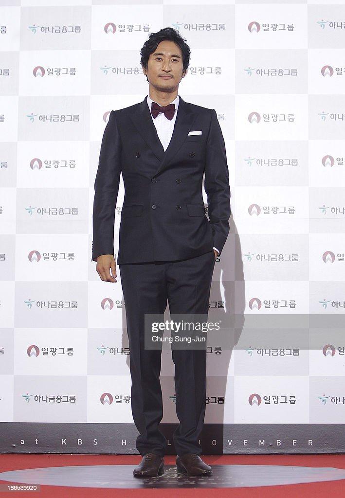 Actor Shin Hyun-Joon arrives for the 50th Daejong Film Awards at KBS hall on November 1, 2013 in Seoul, South Korea.
