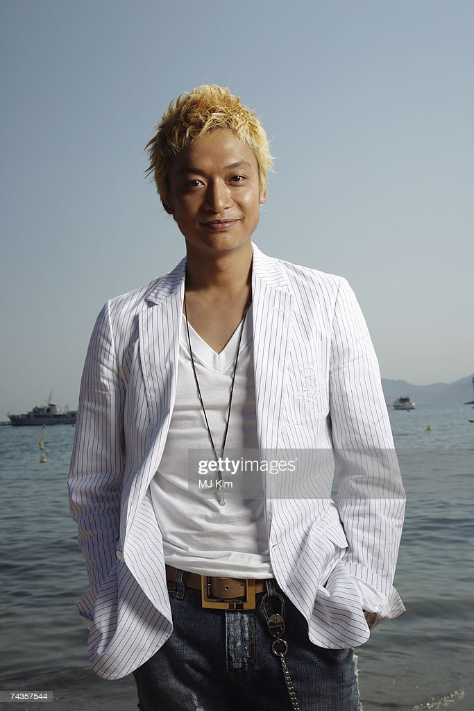 Actor Shingo Katori poses for a portrait shoot while attending Cannes Film Festival on May 20, 2007 in Cannes, France.