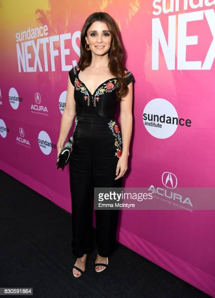 Actor Shiri Appleby attends 2017 Sundance NEXT FEST at The Theater at The Ace Hotel on August 11 2017 in Los Angeles California