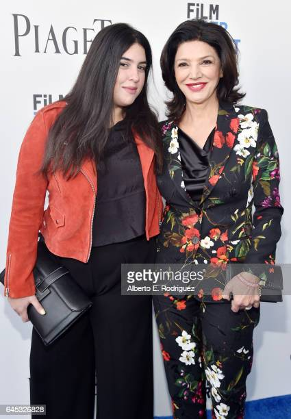 Actor Shohreh Aghdashloo and Tara Touzie attend the 2017 Film Independent Spirit Awards at the Santa Monica Pier on February 25 2017 in Santa Monica...