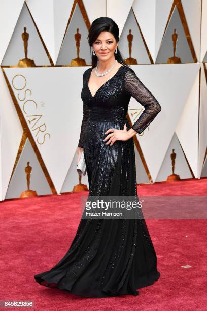 Actor Shohreh Aghdashloo attends the 89th Annual Academy Awards at Hollywood Highland Center on February 26 2017 in Hollywood California