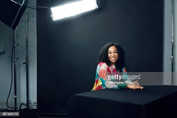 Actor Shonda Rhimes is photographed for the Hollywood Reporter on November 27 2017 in Los Angeles California
