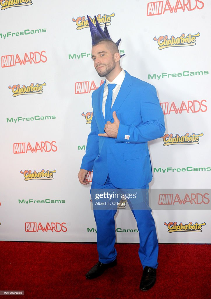 Actor Shreddz arrives at the 2017 Adult Video News Awards held at the Hard Rock Hotel & Casino on January 21, 2017 in Las Vegas, Nevada.