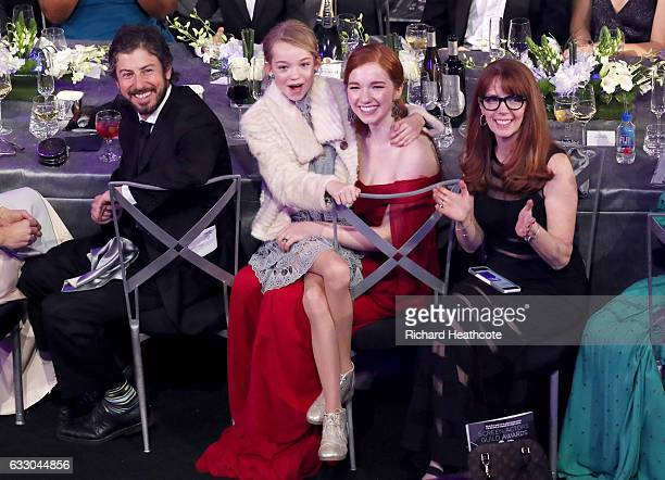 Actor Shree Crooks and Annalise Basso during The 23rd Annual Screen Actors Guild Awards at The Shrine Auditorium on January 29 2017 in Los Angeles...
