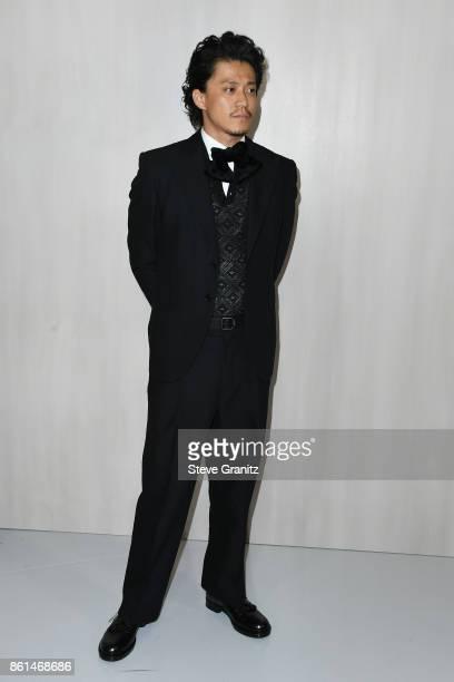 Actor Shun Oguri at Bottega Veneta Hosts Hammer Museum Gala In The Garden on October 14 2017 in Westwood California