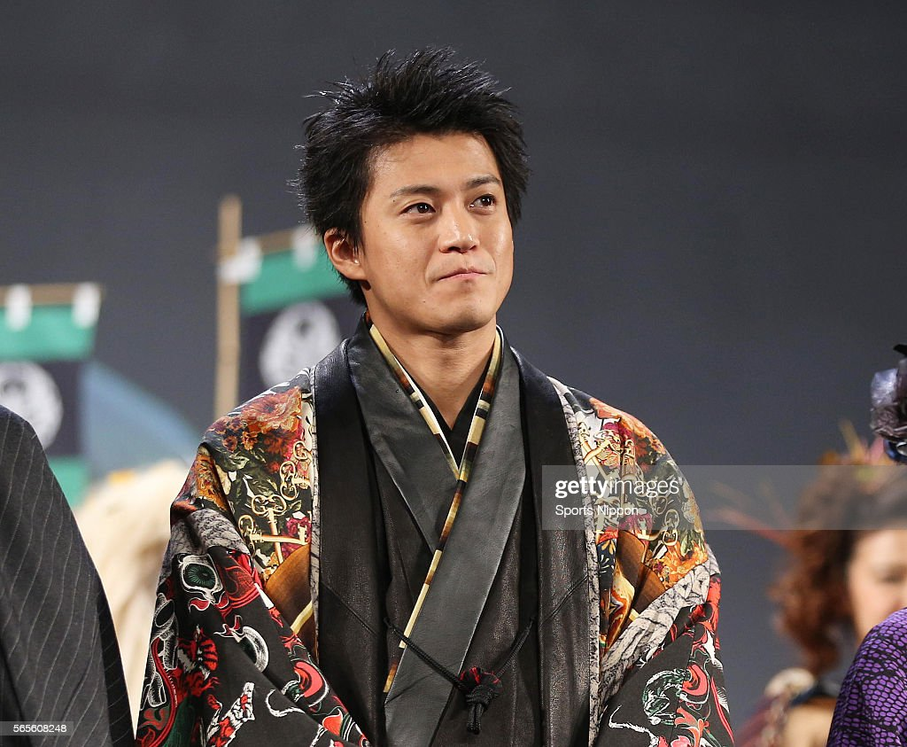 Shun Oguri Attends Preview Screening In Tokyo : News Photo