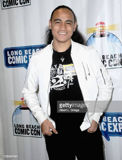 Actor Siaki Sii attends the 2019 Long Beach Comic Expo held at Long Beach Convention Center on February 16 2019 in Long Beach California