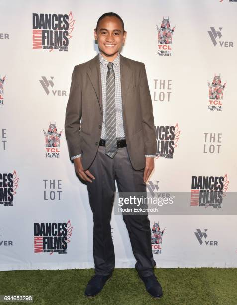 "Actor Siaki Sii attends the 20th Annual Dances with Films premiere of ""Hear Me Out"" at TCL Chinese Theatre on June 10, 2017 in Hollywood, California."